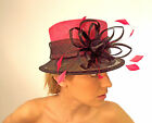 Campbell Cooper New Ladies Superb Wedding Events Fashion Loops & Feather Hat