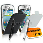 Real Genuine Leather Flip Case Cover for Samsung Galaxy S3 Mini i8190
