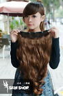 5 Colors Pick One Piece Long 50-60cm Curl/Curly/Wavy Clip-on Hair Extension