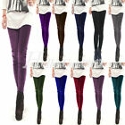Sexy Cool Lady Girl Woman Pleuche Velvet Silm Stretchy Tights Pants Lot