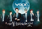 VIXX- 3rd Single Album On and On : CD with photobook+Poster+VIXX Gift Photo,New
