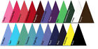 Pre Cut Fabric Triangles Moda Bella Solids 100% Cotton quilting triangle