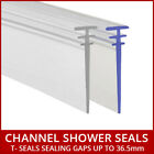 Soft Rubber Silicone Shower Seal For Fold Folding Bath Door Shower Screen