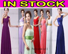 Long Women's Evening Party Formal Prom Bridesmaid Dress size 6 8 10 12 14 16 18