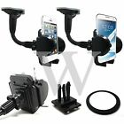 Car Windscreen Holder Suction Stand + Dashboard + Air Vent For HTC Mobile Phone