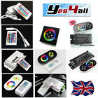 New 12A18A Wireless RF Dimmer Control Touch Remote Controller for LED RGB Strip
