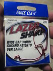 Eagle Claw LaZer Sharp Red Wide Gap Worm Fishing Hooks 1/0 2/0 3/0 4/0 5/0