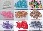 500 Pcs 6mm Faux Pearl Round Beads Imitation Pearl Pick Your Colour