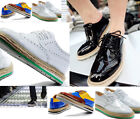 Vintage Mens Punk Chunky Lace Up Oxford Flat High Platform Creeper Brogues Shoes