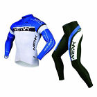 SOBIKE NENK Cycling Suits Long Jersey Long Sleeve & Tights Pants COOREE Blue