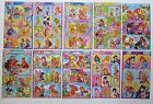 Winx Club Stickers Coloring reverse side 4x6'' (10x15cm)