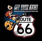 ROUTE 66 CLASSIC GUITARS LOGO GET YOUR KICKS T SHIRT TANK TOP / TEE'S & TANKS