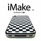 iMake Personalized iPhone 4/4S Back Cover Case(JapanMade) 2 Screen Protector LOT