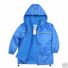 NEW Baby Children Boy Toddler Cozy Fleece Jacket Coat Hooded Blue sz 1-6 Yrs old