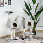 PawHut Cat Scratcher Tree Condo House Furniture Post Bed Toys