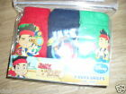 BNIP Disney Jake and the never land pirates 3 pack of boys briefs 100% cotton