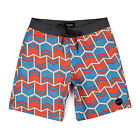 Brixton Ltd. Generator Men's Boardshorts Blue/Red Casual/Surf 30,32,34,36 *SALE*