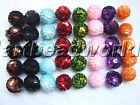 variations 20pcs waxed cotton hemp paper sequins knitted ball bell loose beads