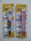 Bic Hello Kitty Pencils 0.7 Pink & 4 in 1 Pen Sets Colours Red Blue Black Green