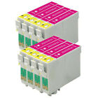 8PK  MAGENTA INK CARTRIDGES COMPATIBLE FOR EPSON STYLUS PRINTERS