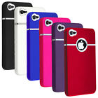 50X Deluxe Snap-on Hard Case With Chrome Ring For Apple iPhone 5S / 5G Wholesale