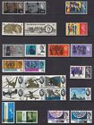 1965 SG661-684/SG661p-684p MNH OR MOUNTED MINT ORDINARY OR PHOSPHOR YEAR SET