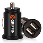 Mini Bullet Dual USB 2-Port Car Charger Adaptor for iPhone 4 iPod Touch 2 color