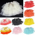 Various Color Tiered Layer Baby Girl Skirt Dance Tutu Dress 1-7Year