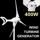 400W WIND TURBINE GENERATOR NATURAL ENERGY MAX ELECTRICITY ECO-FRIENDLY UK SHIP