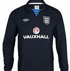 BNWT Official Umbro England Drill Top - Training / Warm Up / Pre Match - Navy