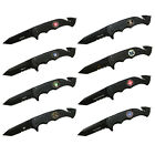 """4.5"""" Outdoor Tactical Hunting Collapsible Folding Pocket Survival Knife w/ Clip"""