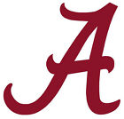 Two Alabama Vinyl Decals Sticker Logo - You Get A Pair Of Same Size Decals