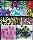 40g Seed Beads 6/0 8/0 11/0 12/0 2 Cut, Silver Lined, AB, 47 Colours UK SELLER