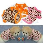 Summer Pet Dog Puppy Warm T Shirt Fleece Clothes Jacket Coat Apparel XS S M L