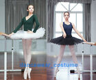 Внешний вид - New Adult Professional Ballet Tutu Hard Organdy Platter Skirt Dance Dress 2Color