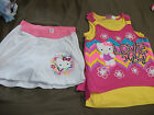 Hello Kitty, Girls Layered Graphic Tank Top or  Graphic Skort, M, L, NWOT
