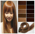 """New Remy 16""""18""""20""""22""""24""""26""""28""""30"""" Long Clip In Human Hair Extensions,More Color"""