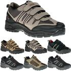 MENS HIKING BOOTS NEW BOYS WALKING LOW ANKLE TRAIL TREKKING TRAINERS SHOES SIZE