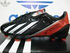 NEW ADIDAS F10 TRX FG Men's Soccer Cleats Black/White; Q33869