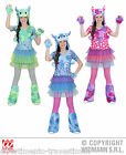 NOVITA'! COSTUME MONSTER GIRL tipo monster high CM 158 CARNEVALE HALLOWEEN 01608