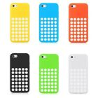 iPhone 5C Rubber Silicone Case Dotted Design Colorful Heavy Duty Hybrid Case