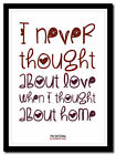 THE NATIONAL - Bloodbuzz Ohio ❤ song lyric poster typography art print - 4 sizes