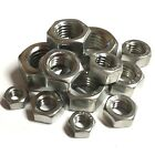 """UNF Full Nuts A2 Stainless - 10-32 1/4"""" 5/16"""" 3/8"""" 7/16"""" 1/2"""" 5/8"""""""