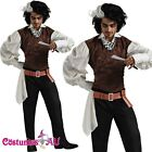 Mens Sweeney Todd Deluxe Adult Halloween Costume Fancy Dress Outfit