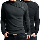 Charming Style Men's Slim Sweater Warm Casual Knitwear Jumper In Size XS ~ L Hot