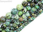 Natural African Turquoise Gemstone Round Beads 16'' 2mm 3mm 4mm 6mm 8mm 10mm