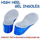 Silicone Gel High Heel Insoles Arch Support Sport Shoes Massage Orthotic Cushion