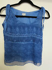 Blue Tank Top, Adjustible straps, Converse, New W/ Tags!!