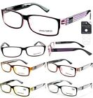 Georgio Caponi Double Color Reading Glasses with Spring Hinge + FREE GIFT!