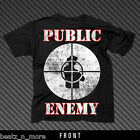PUBLIC ENEMY FIGHT THE POWER OFFICIALLY LICENSED ADULY UNISEX HIP HOP T-SHIRT